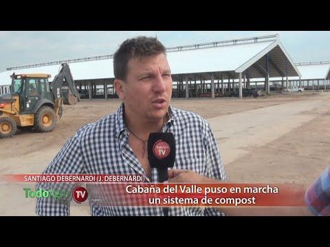 Juan Debernardi organizó una gira por sistemas de compost