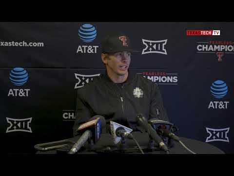 buy popular 0e624 8933d Texas Tech Baseball vs. Wichita State  Postagme Presser (W, 15-4)   2019 -  YouTube