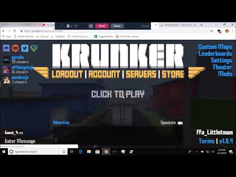 How to Install Aimbot in Krunker.io (Working 2019)