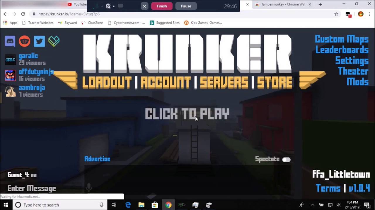 How to Install Aimbot in Krunker io (Working 2019)