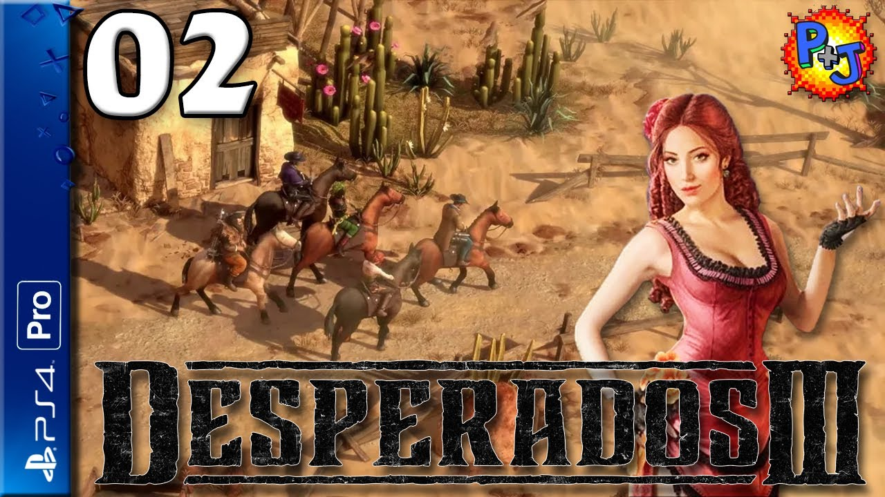 Let S Play Desperados Iii 3 Ps4 Pro Console Gameplay Episode 1 Western Tactical Stealth Game Youtube