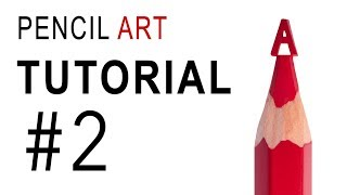 Pencil Art. Tutorial #2 How to make latter A