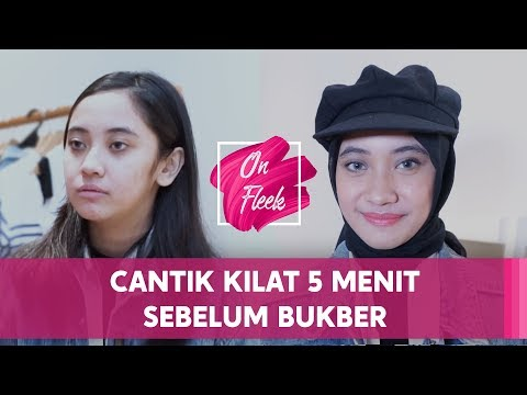 ON FLEEK #1 : TIPS MAKE UP HIJAB SIMPLE BUAT BUKBER!