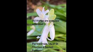 'All things are possible with God ' | Pip Cadman