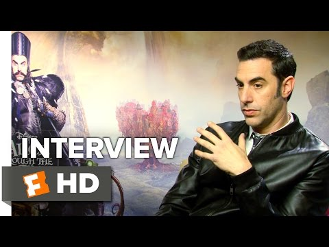 Alice Through the Looking Glass Interview - Sacha Baron Cohen (2016) - Fantasy Movie HD