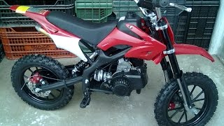 Roan Racing - ORION 27 49cc (Minicross) Pocket Bike - (SHOWROOM) 360p