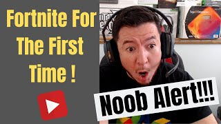 Noob Gaming Dad Plays Fortnite For The First Time With Son (Funny Fortnite Moments)