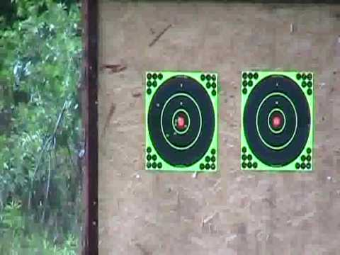 Mini 14 NRA target practice