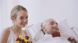 Teen Battling Cancer Marries His True Love In Emotional Hospital