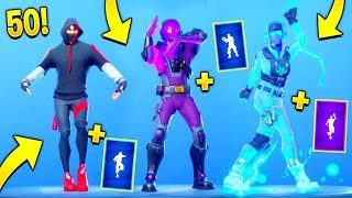 TOP 50 Fortnite Dances & Emotes *LOOKS BETTER* with These Skins..! (Fortnite Battle Royale)
