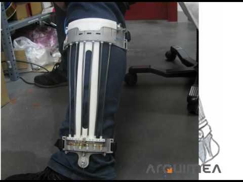 SMA artificial muscles - exoskeleton