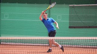 Singlowe mistrzostwa Ostrołęki w tenisie ziemnym