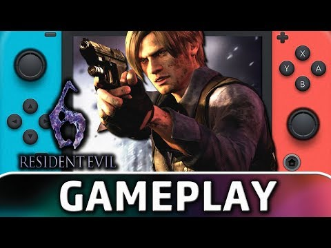 Resident Evil 6   First 15 Minutes On Switch