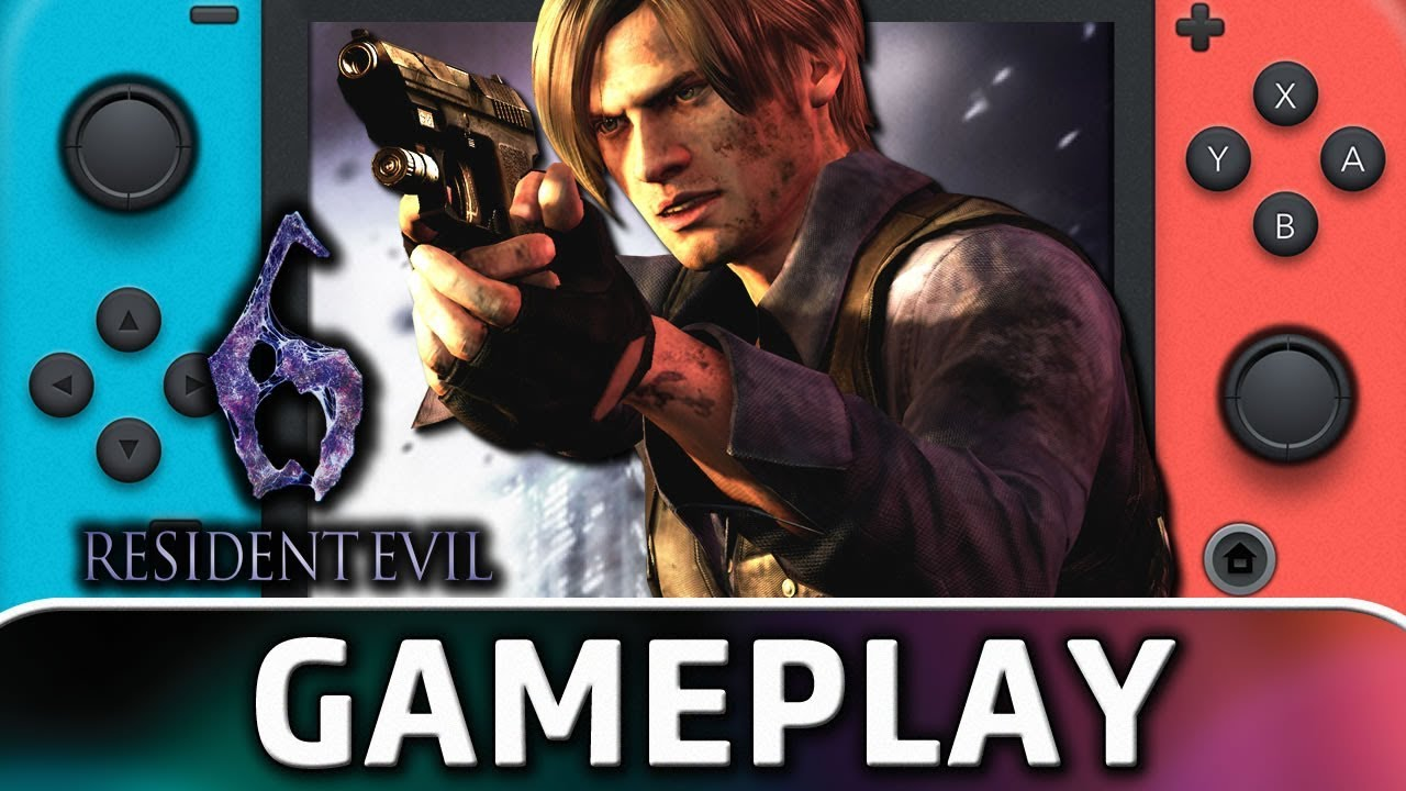 Resident Evil 6 | First 15 Minutes on Nintendo Switch
