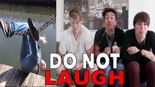 IF YOU LAUGH YOU'RE GOING TO HELL CHALLENGE!! (REACTION)