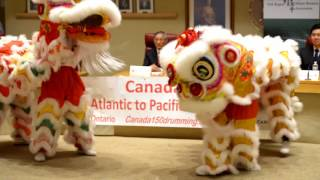 All Canada Drumming, media conference, 20170604