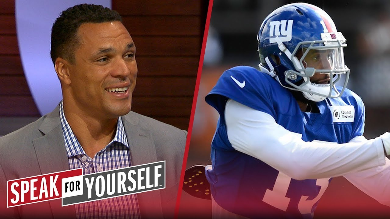 Tony Gonzalez on OBJ's contract extension and the latest on Khalil Mack | NFL | SPEAK FOR YOURSELF