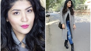 #GRWM | Get Ready With Me | Winter Edition | Makeup, Hair & Outfit