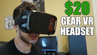 $20 BUDGET VIRTUAL REALITY HEADSET