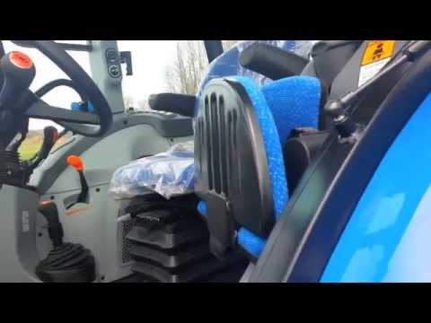 New Holland 2014 T4.95 Cab Tractor on