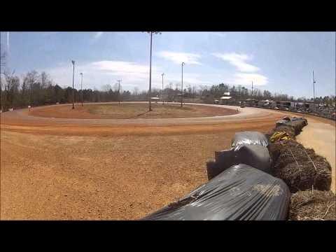 #55 Lance Harris - Dawgwood Speedway - Kart Racing