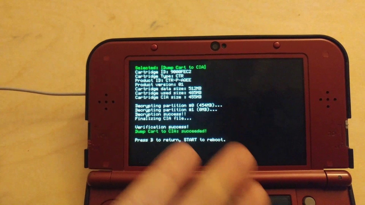3ds homebrew an exception occurred data abort