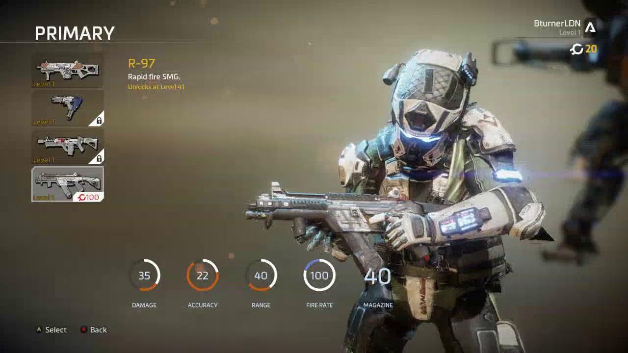TITANFALL 2 R-97 GUN REVIEW! BEST GUN IN THE GAME!! - YouTube