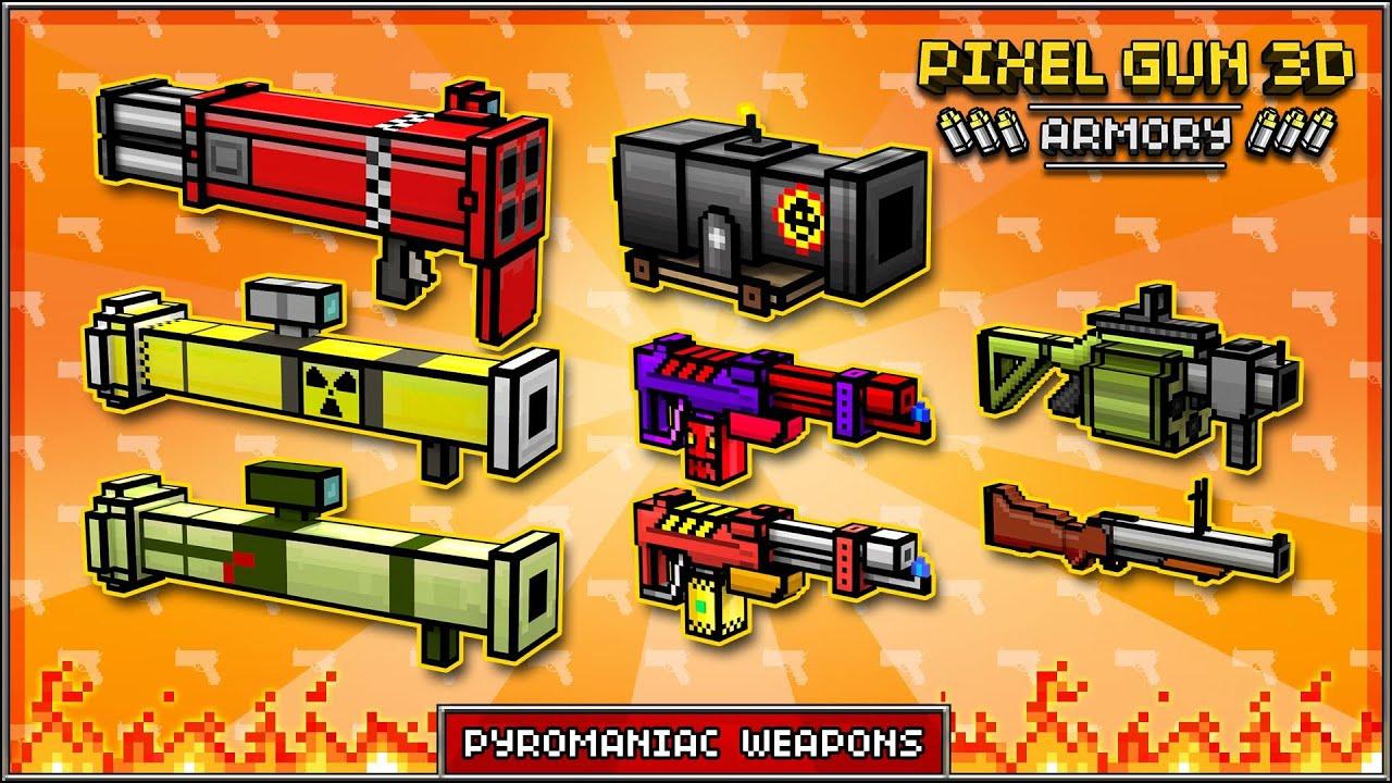 Pixel Gun 3D: Premium Weapons - YouTube
