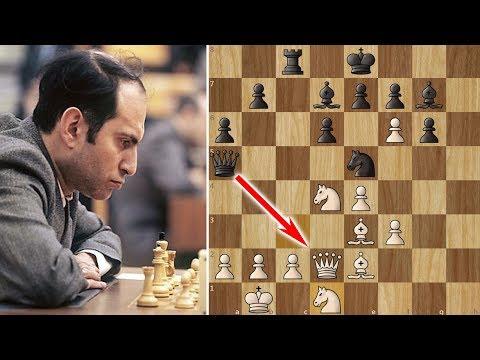 Mikhail Tal Slays The Sicilian Dragon (18 move miniature!)
