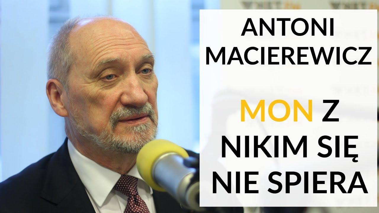 Macierewicz: MON z nikim się nie spiera. W sprawie słów prezydenta odmawiam komentarza