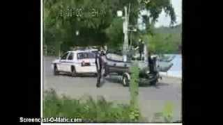 EPIC COP FAIL ... LAUNCHING A BOAT ... LMAO !!