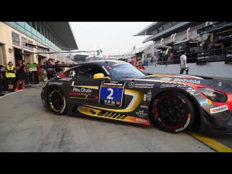 Abu Dhabi Racing at 24H Dubai - Pole Position