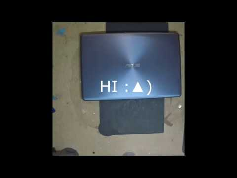 Laptop Screen Replacement / How To Replace Laptop Screen [ASUS F542BP]