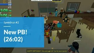 New PB | Roblox: Growing Up (Age 18) Glitchless | 26:02