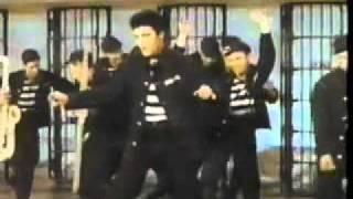 Elvis Presley-Jailhouse Rock  Color Official rare video1957 [HQ]