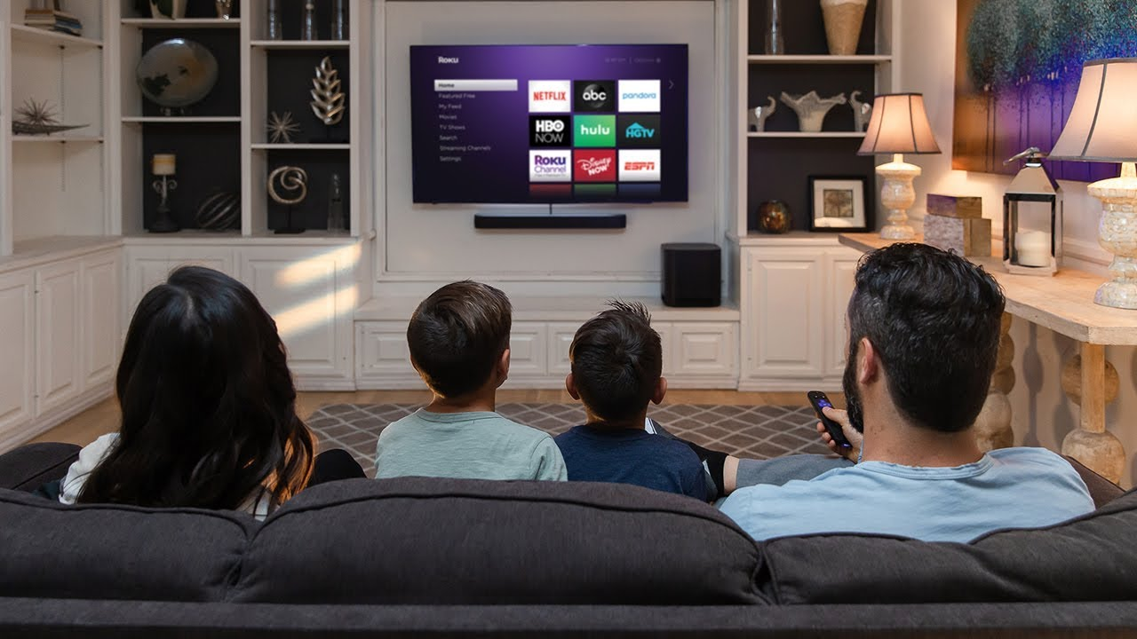 Roku Smart Soundbar | Exceptional audio with a Roku player