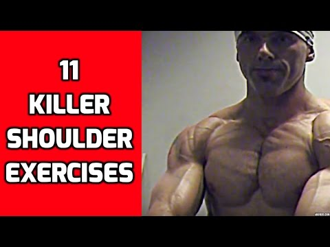11 Killer Shoulder Exercises