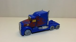 KNOCKOFF Transformers Age of Extinction 1st Edition Optimus Prime Review!