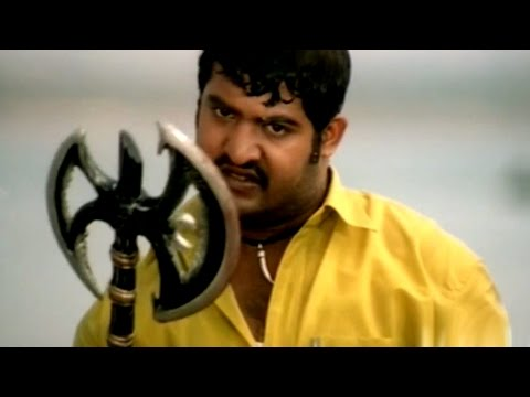 Simhadri Movie || Fight Near Rivar Action Scene || Jr NTR, Bhoomika, Ankitha