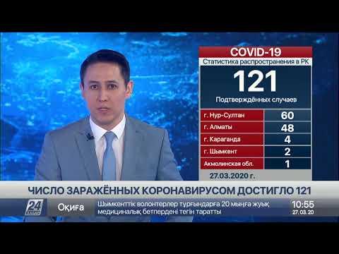 Число зараженных коронавирусом в РК увеличилось до 121