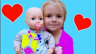 Anabella vrea un Bebelus | Unboxing Baby Annabell | Anabella Show