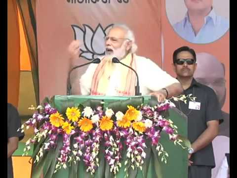 PM Narendra Modi kicks off Assam campaign with this Tinsukia rally