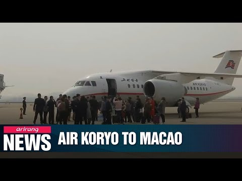 North Korea's Air Koryo to start direct flights to Macao in August