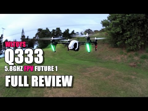 WLTOYS Q333 FUTURE 1 FPV - Full Review (Mini DJI Inspire) - [UnBox, Setup, Flight Test, Pros & Cons]