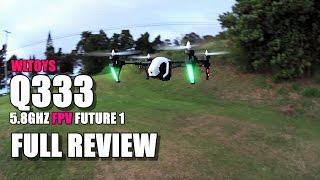 wltoys q333 future 1 fpv full review mini dji inspire unbox setup flight test pros cons