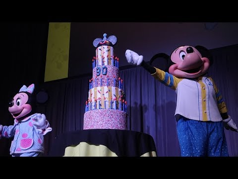 Mickey Mouse's 90th Birthday Party At Walt Disney World Destination D! | Dance Party, Merch & Food!