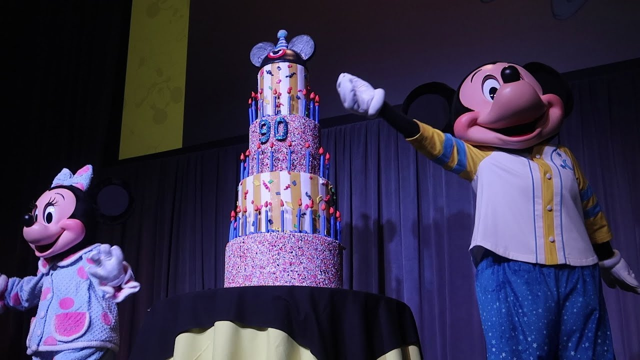 Mickey Mouses 90th Birthday Party At Walt Disney World Destination D
