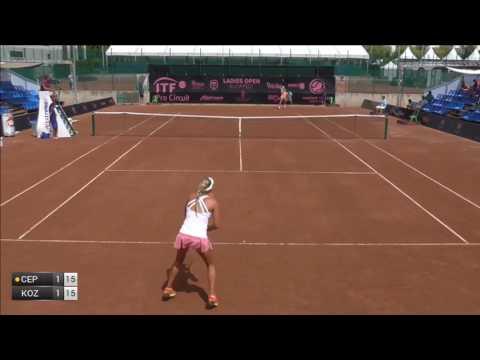Cepelova Jana v Kozlova Kateryna - 2017 ITF Budapest