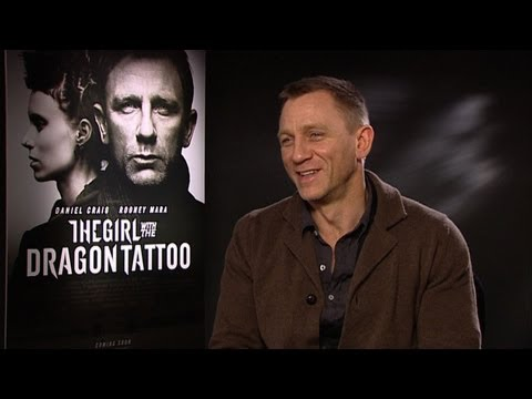 Daniel Craig Interview - The Girl With The Dragon Tattoo - With Rickie, Melvin & Charlie - KISS FM