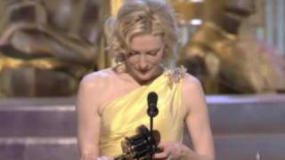 Cate Blanchett Wins Supporting Actress: 2005 Oscars thumbnail
